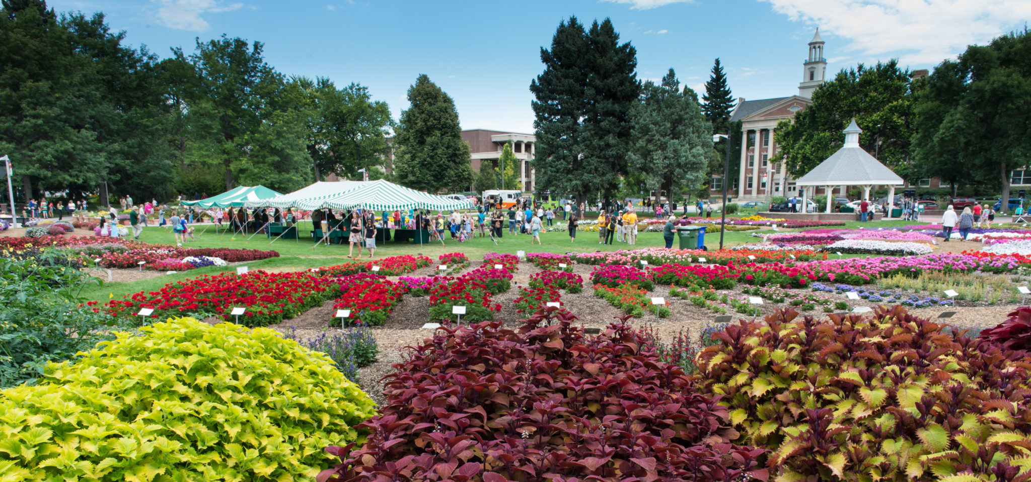 Colorado State University Annual Flower Trial Garden