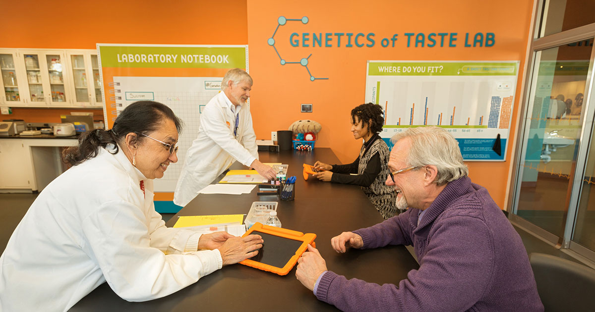 genetics of taste lab enrolling people for a study