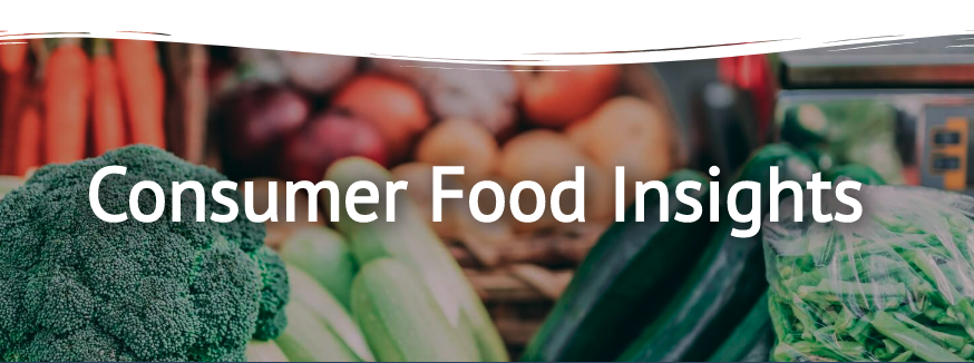 consumer food insights banner